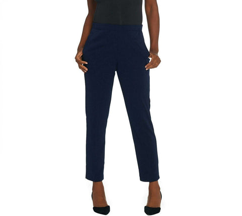Susan Graver Women's Milano Knit Pull On Pants. A343086