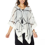 MarlaWynne WynneLayers Women's Chiffon Convertible Poncho
