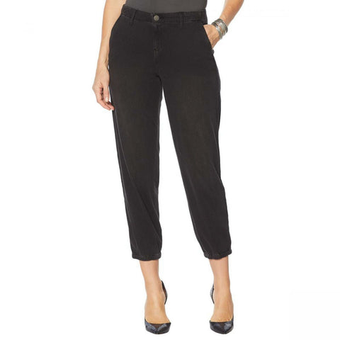 Skinnygirl Women's Utility Twill Jogger Pants With Side Trim