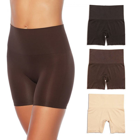 Yummie Women's Plus Size 3 Pack Seamless Shaping Shorts