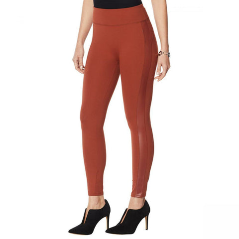 G by Giuliana Women's Petite Jet Set Leggings With Side Stripe