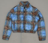 Wild Fable Women's Plaid Puffer Jacket