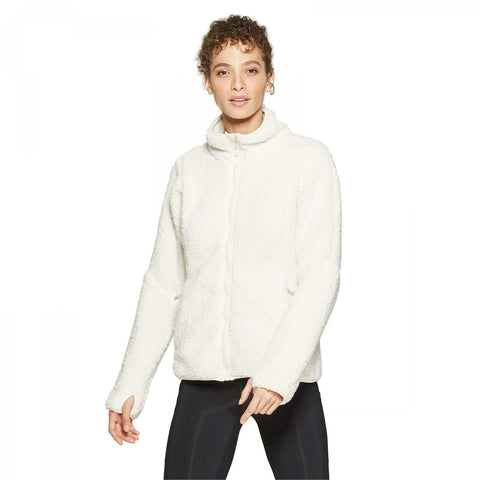 C9 Champion Women's Fleece Sherpa Jacket with Thumbholes