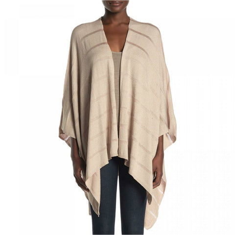 Calvin Klein Women's Knit Shadow Stripe Shawl