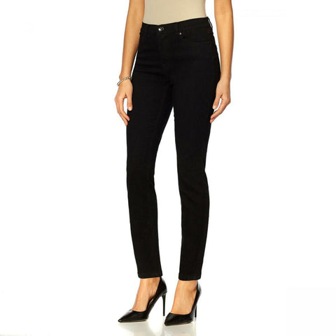 DG2 by Diane Gilman Women's Petite Up Lifter Skinny Jeans