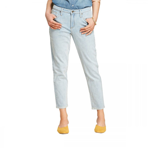 Universal Thread Women's High-Rise Straight Cropped Jeans