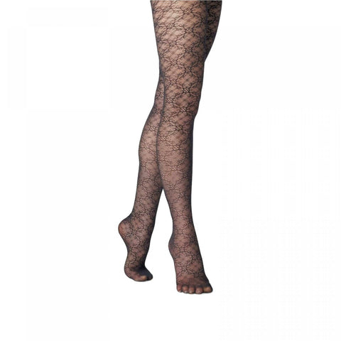 A New Day Women's Floral Twist Fashion Tights