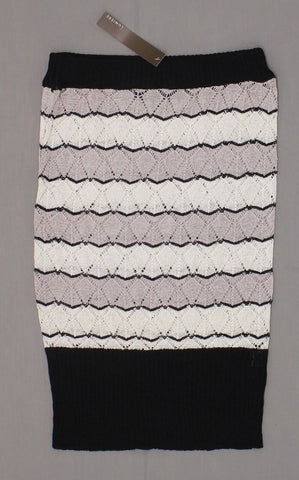 Lumiere Women's Diamond Lace Sweater Knit Pencil Skirt Or Tube Top