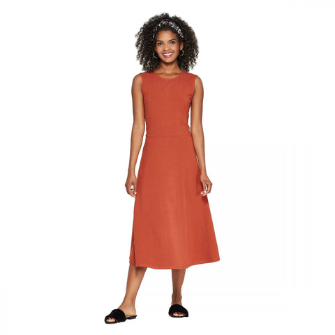 Who What Wear Women's Sleeveless Knit Midi Dress