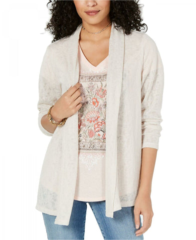 Style & Co. Women's Open-Front Cardigan Sweater. 100054227MS