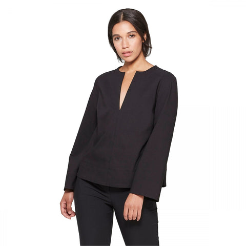Prologue Women's Long Sleeve V-Neck Blouse