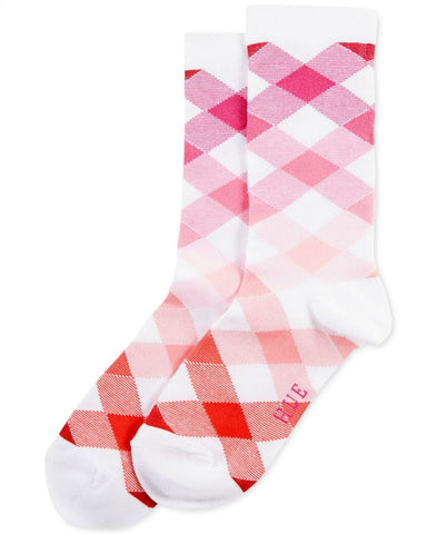 HUE Women's Gingham Argyle Socks. U19088