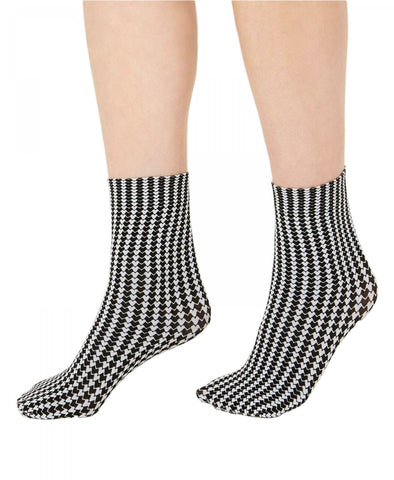 INC International Concepts Women's Printed Anklet Socks. 100041620