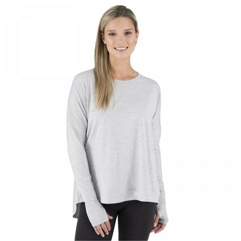 Wander by Hottotties Women's Charlotte Drop Shoulder Thermoregulation Tunic Top
