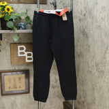 Weatherproof Vintage Women's Woven Twill Slim Fit Jogger Pants