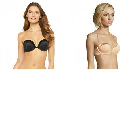 Maidenform Self Expressions Women's Plunge Convertible Strapless Push Up Bra