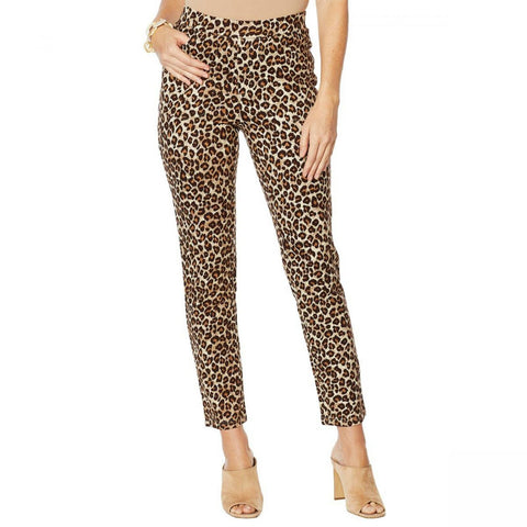 Lemon Way Women's Pull On Ponte Straight Leg Pants