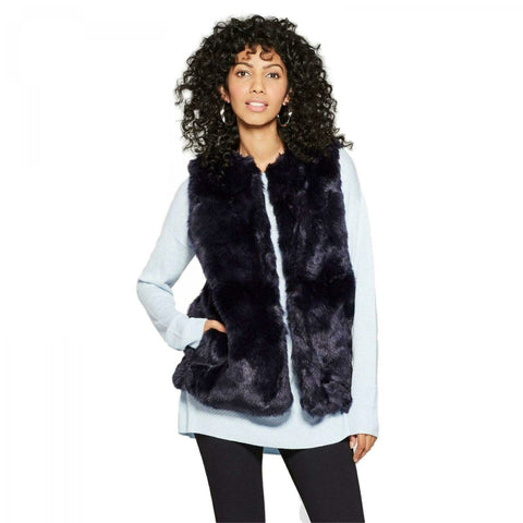 A New Day Women's Faux Fur Vest