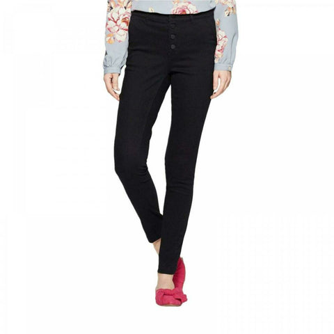 A New Day Women's Skinny Button Front Pants