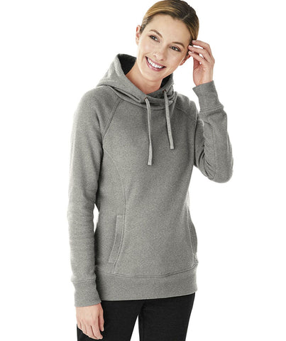 Charles River Apparel Women's Hometown Hoodie Pullover Hooded Sweatshirt