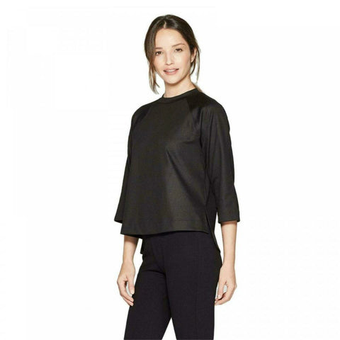 Prologue Women's Tuck Shoulder 3/4 Sleeve T-Shirt Top