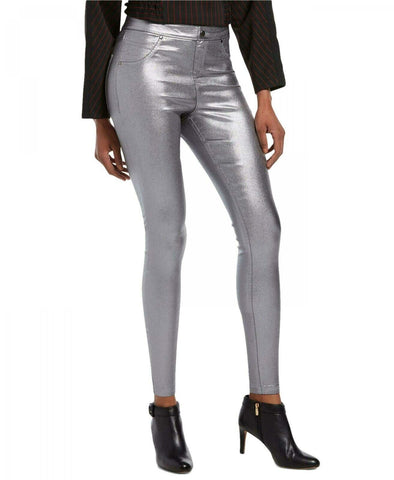 HUE Women's Iridescent Denim Leggings. U19826H