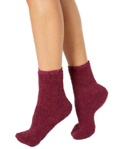 Charter Club Women's Lace-Trim Supersoft Socks. CC17LT21