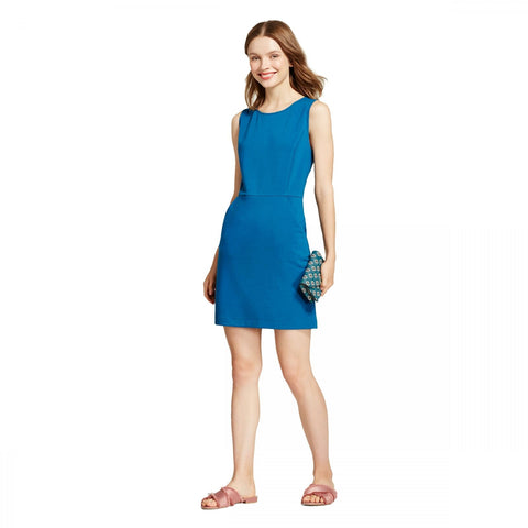 A New Day Women's Sleeveless Ponte Sheath Dress