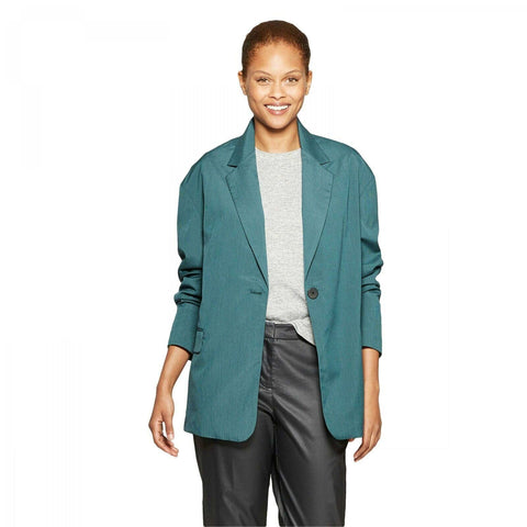 Prologue Women's Long Sleeve Oversized Slouchy Blazer