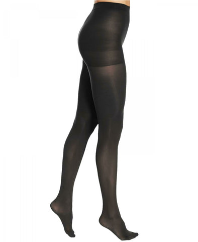 HUE Women's Opaque Control Top Tights 40D. U4690