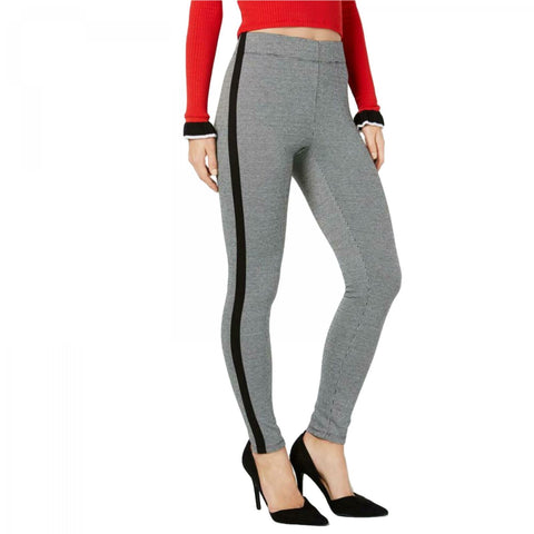 INC International Concepts Women's Shaping Tuxedo Stripe Menswear Leggings. 100041790