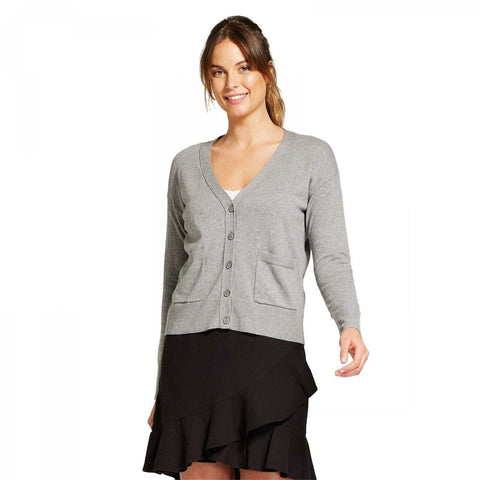 A New Day Women's Any Day V-Neck Cardigan Sweater