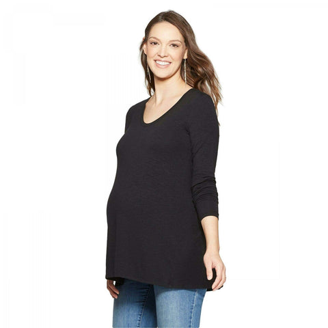 Isabel Maternity by Ingrid & Isabel Relaxed Long Sleeve T-Shirt