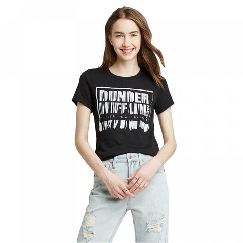 Ripple Junction Women's Dunder Mifflin Shredder Short Sleeve Graphic T-Shirt