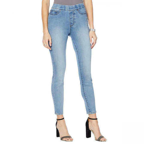 MOTTO Women's Plus Size Stretch Denim Pull On Jeggings
