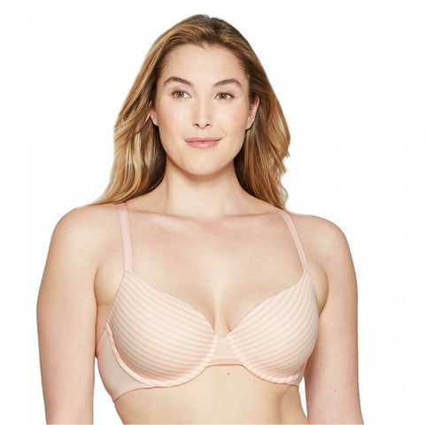 Auden Women's Everyday Cotton Demi Lightly Lined T-Shirt Bra. KY351