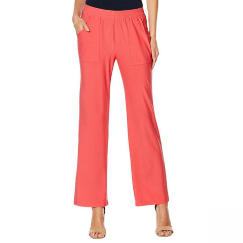 Antthony Women's Ocean Waves Pull On Cargo Pants