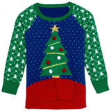 Well Worn Toddler Girls' Ugly Christmas Sweater