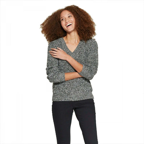 A New Day Women's V-Neck Pullover Sweater