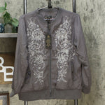 DG2 by Diane Gilman Women's Embroidered Trophy Jacket