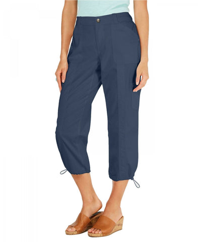 Style & Co. Women's Comfort-Waist Curvy-Fit Capri Pants. 100052271