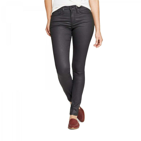 Universal Thread Women's Stretch High-Rise Coated Skinny Jeans