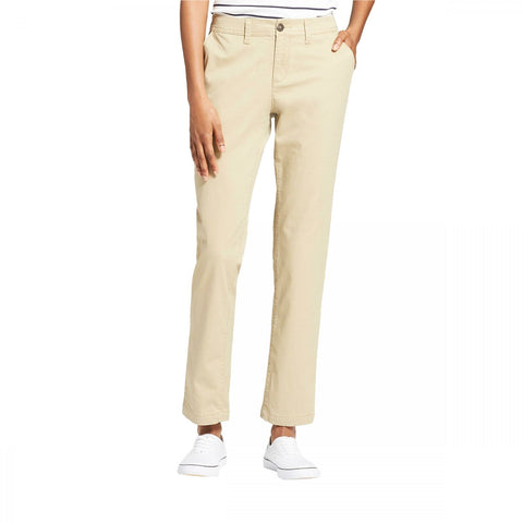 A New Day Women's Stretch Cotton Slim Chino Pants