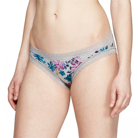 Auden Women's Cotton Bikini Panties with Lace