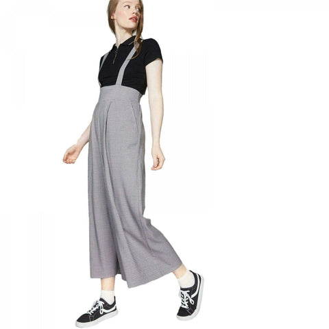 Wild Fable Women's Woven Suspender Jumpsuit High Waisted Pants