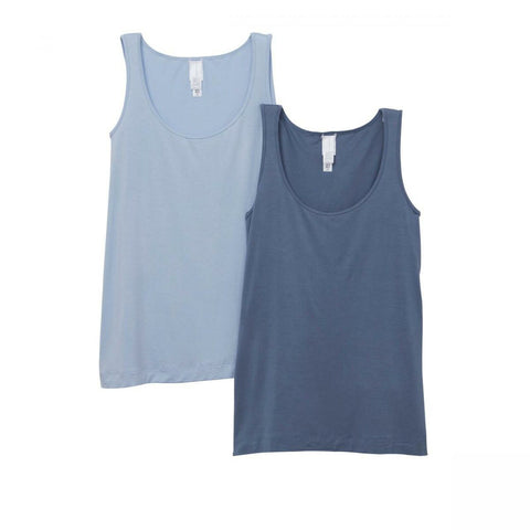 MarlaWynne WynneLayers 2 Pack Stretch Blend Tank Top