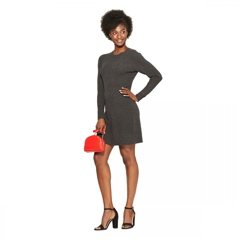 A New Day Women's Long Sleeve Crew Neck Sweater Dress
