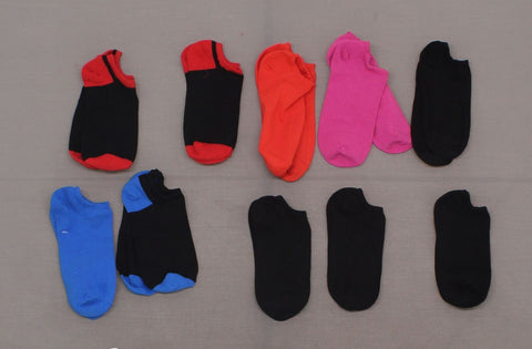 HUE Women's LOT OF 10 Pairs Assorted Liner Socks