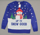 Well Worn Women's Up to Snow Good Ugly Christmas Sweater