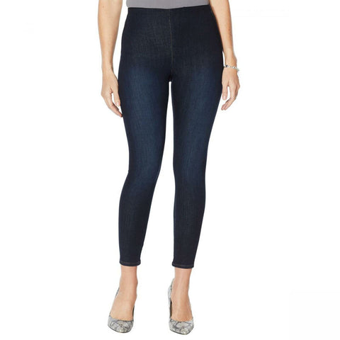 Skinnygirl Women's Bailey High Rise Pull On Skinny Ankle Jeans